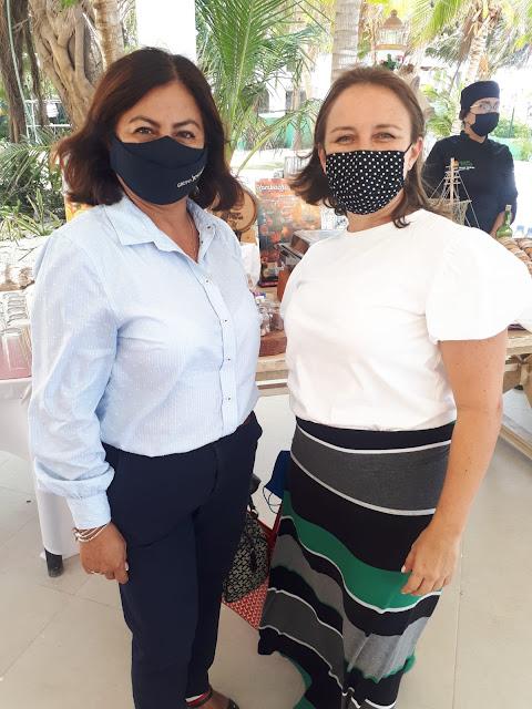 Magali Pasos y Paolina Sauza.