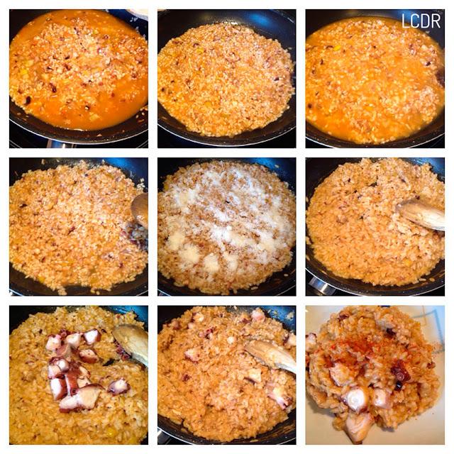 Receta de risotto de pulpo al pimentón 03