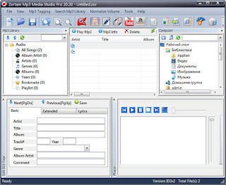 Zortam Mp3 Media Studio 21.15 Multilingual Full Version