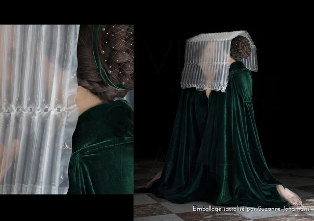 Emballage sacralisé par Suzanne Jongmans.