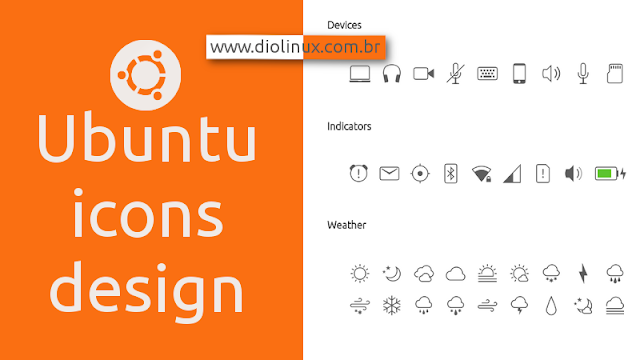 Ubuntu new monochromatic icons