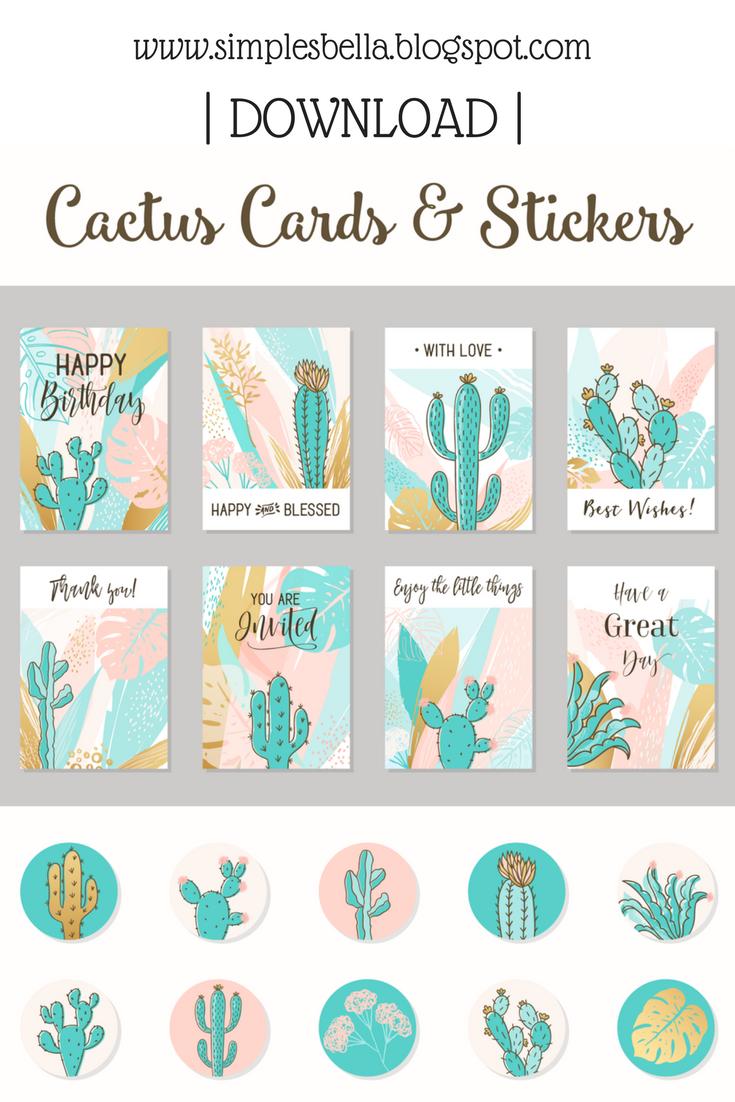 Baixar grátis Vetores, Stickers e Cards de Cactos, Cactos Vetores e Fotos.