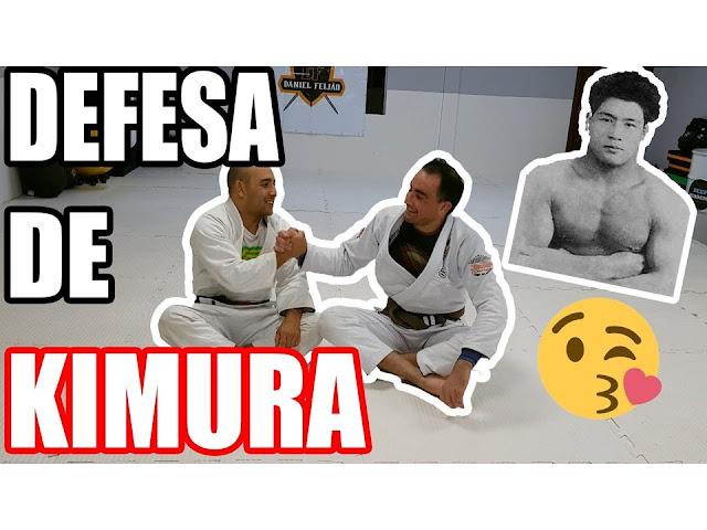APRENDA A DEFESA DA KIMURA NA MEIA GUARDA - JIU JITSU