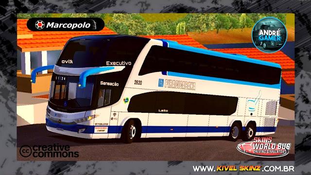 PARADISO G7 1800 DD 6X2 - VIAÇÃO PIRACICABANA