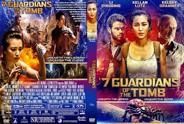 7 Guardians of the Tomb DVD Cover
