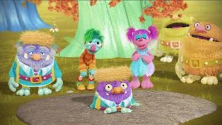 Abby's Flying Fairy School Henking Day, Abby Cadabby, Blögg, Gonnigan, Sesame Street Episode 4415 Rosita's Abuela season 44