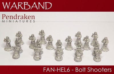 FAN-HEL6 – 5 x Bolt Shooters with crews