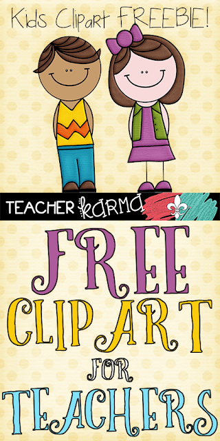 free kids clipart for teachers