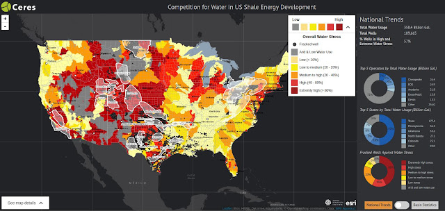 Geoarchitektur Geoengineering Fracking Colonialism - Fracking us map