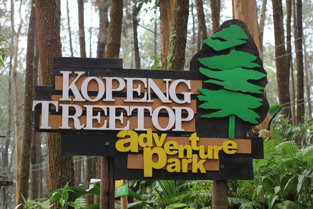Kopeng Treetop Adventure Park Semarang