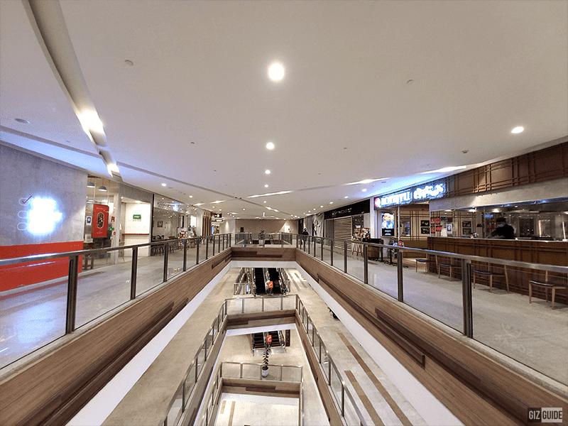 Ultra-wide indoors