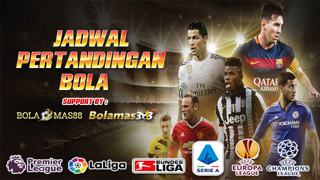 Jadwal Pertandingan Bola 30 September - 1 Oktober 2019
