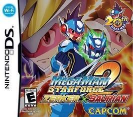 Mega man Star Force 2 Zerker X Saurian