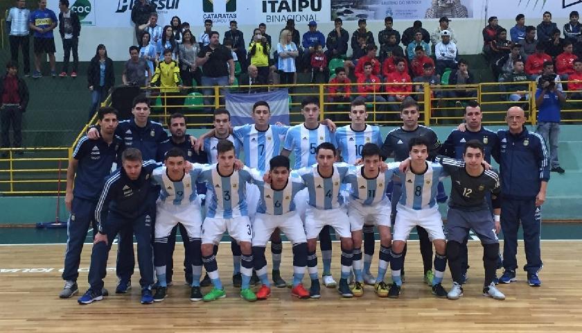 Futsal  Argentina se consagró subcampeón del Sudamericano Sub 17 ca86405f8791e