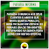 O Paraíba comunica aos seus clientes que nesta quarta-feira(21), será fechado em virtude do feriado de Tiradentes