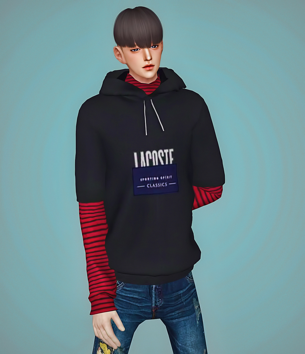 Sims 4 CC's - The Best: M Nate hoodie by Meeyou