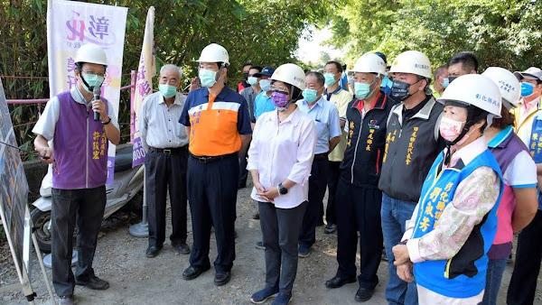 彰化3鄉鎮聯絡橋樑「三鄉橋」將改建拓寬 修繕田尾重劃區3條農路
