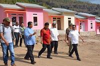 Didampingi Wawali Bima, Tim BWS NT I Tinjau Pembangunan Perumahan Relokasi