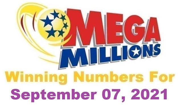 Mega Millions Winning Numbers for Tuesday, September 07, 2021