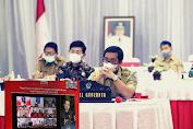 Wagub Kandouw Ikuti Rakor Kada-Wakada Hasil Pilkada 2020 yang Dipimpin Jokowi