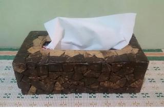 Cara Membuat Tempat Tisu Unik Dari Batok Kelapa Besarta Gambarnya