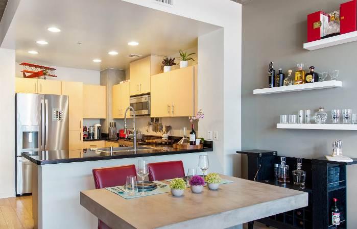 Desain Ruangan Rumah Minimalis 1 Lantai bagian dapur