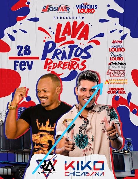 Sobe para 6 os pré-candidatos a prefeito de Pedreiras que se juntam para o Lava Pratos ...