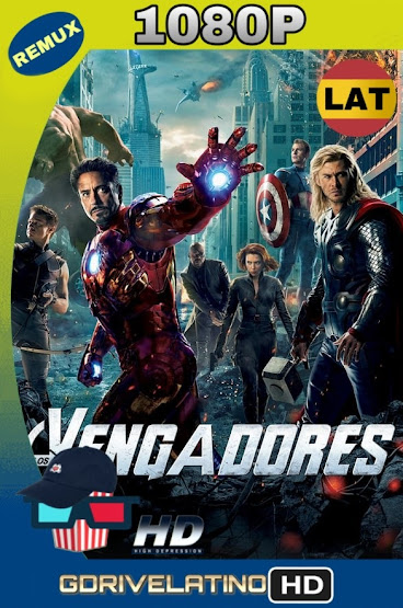 The Avengers: Los Vengadores (2012) BDRemux 1080p Latino-Ingles MKV