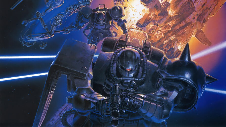 Zaku II, Gundam, 4K, #6.2578