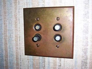 1940s light switch