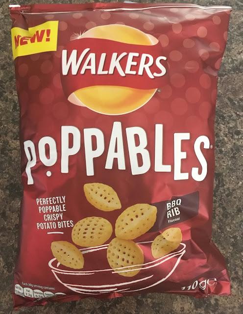 Walkers Poppables BBQ Rib Crisps