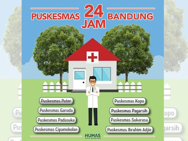 Puskesmas 24 jam di Kota Bandung