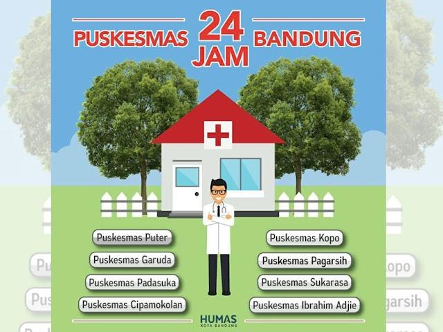Layanan Puskesmas 24 Jam di Kota Bandung