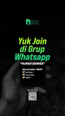 Yuk Join Grup Whatsapp Hijrah Diaries, Istiqomah tapaki jalan Hijrah