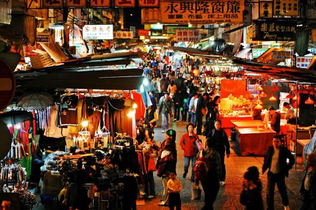Nơi có chợ đêm lớn nhất tại Đài Loan