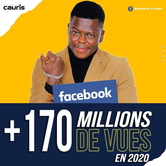 Le blogueur MANSOUR LE GUISEN CONNUT PAR DOUGOUROUNI CITY À BATTUE LE RECORD DE PLUS DE 170 Million sur Facebook #2020