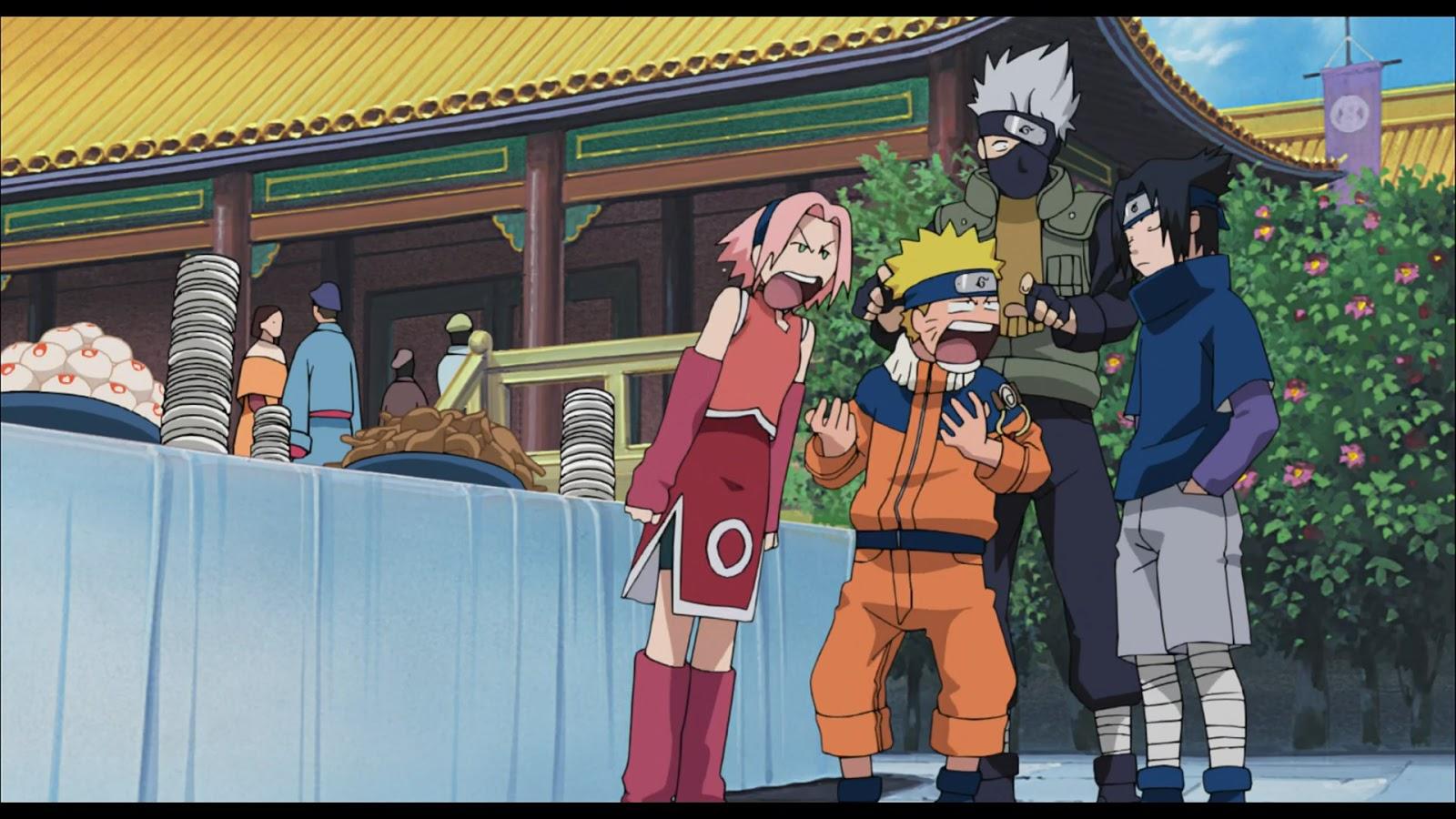 Naruto Movie 1: Dai Katsugeki!! Yuki Hime Shinobu Houjou Dattebayo! BD 10-Bit Subtitle Indonesia