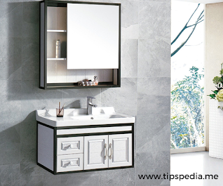 aluminum bathroom mirror cabinet