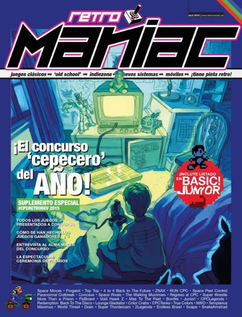 RetroManiac Magazine - Especial CPCRetroDev15 (ECPC15)