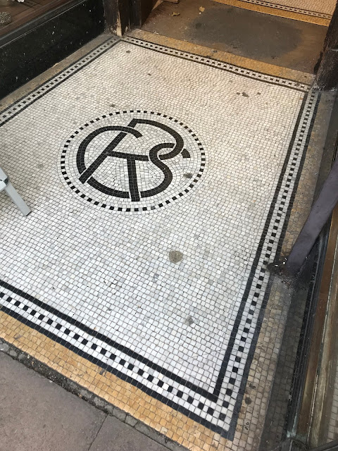 Doorway Mosaic, Rochester, Kent
