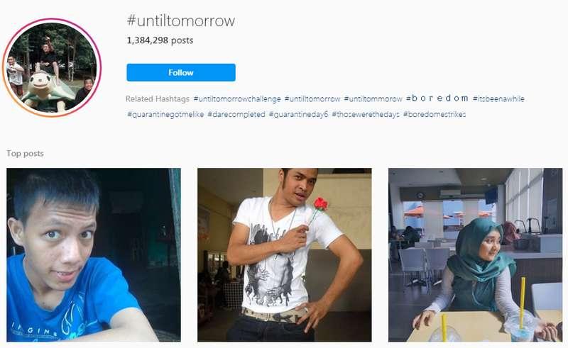Hashtag UntilTomorrow Viral di Instagram (instagram.com)