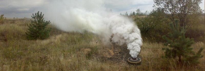 Завершено держвипробування уніфікованої димової шашки