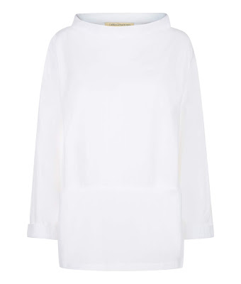 Sandy Funnel Neck Smock
