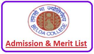Belda College Merit List