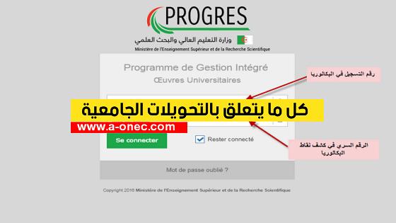 التحويل من جامعة إلى جامعة أخرى بعد عام في الجزائر - شروط التحويل من تخصص إلى تخصص