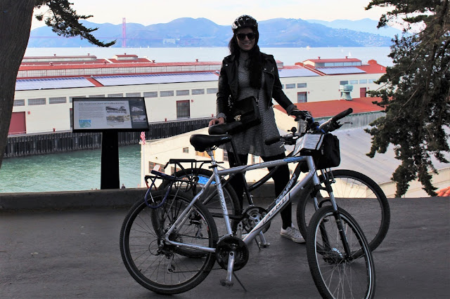 Hiring bikes, San Francisco - California travel blog