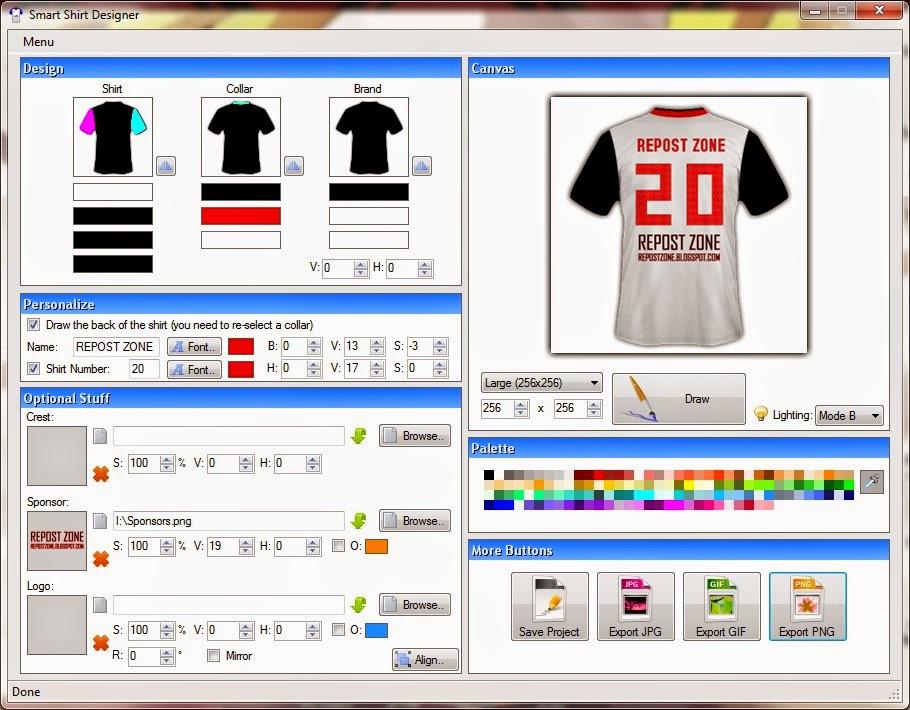 Free Download Aplikasi Desain Baju Bola