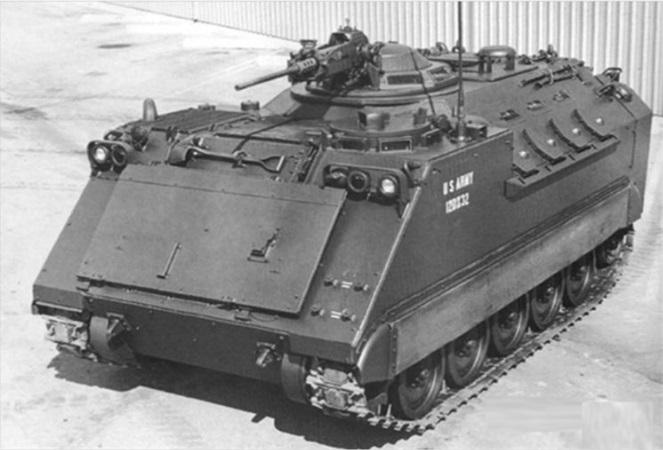 Прототип БМП ХМ765
