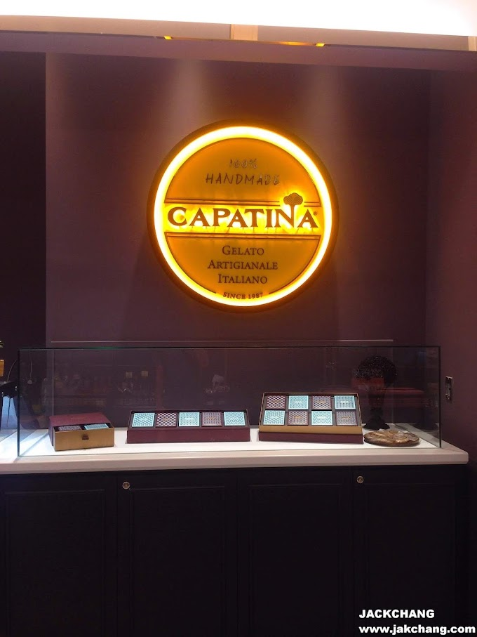Food in Taipei,Xinyi District,CAPATINA Italian Ice Cream Breeze Nanshan store- Fresh Milk Low Fat Low Sugar