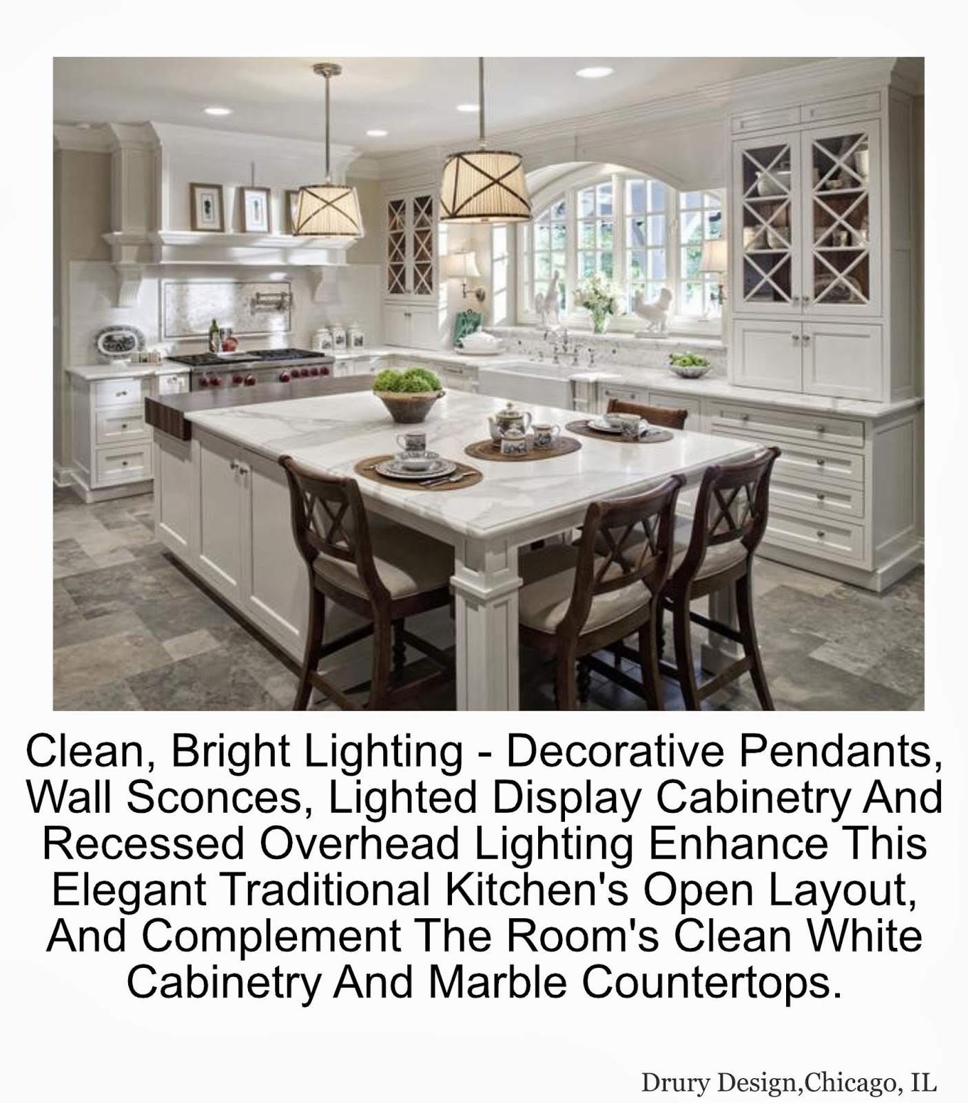 Something Beautiful Journal: Kitchen Lighting Styles And